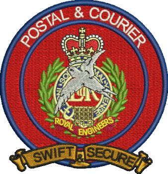 Postal & Courier Embroidered Badge